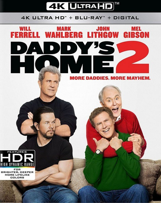 Co wiecie o swoich dziadkach? / Daddys Home 2 (2017) MULTi.2160p.UHD.BluRay.REMUX.HDR.HEVC.TrueHD.7.1-PSiG / Lektor PL, Dubbing PL i Napisy PL