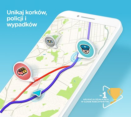 Waze - GPS, Maps, Traffic Alerts & Live Navigation v4.41.0.2 (PL)
